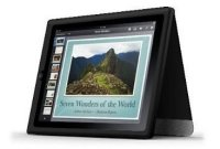 Lederne iPad-Schutzhülle iKit im Angebot
