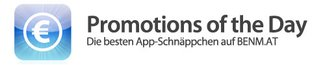 Promotions of the Day: 10. Oktober