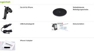 TomTom Car Kit: Jetzt mit iPhone 4 kompatibel