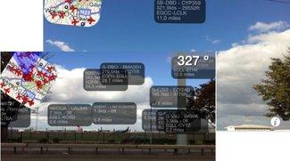 Augmented Reality: Plane Finder AR liefert Flugdaten aufs iPhone