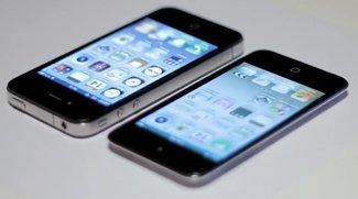 Vergleichsvideos: Neuer iPod touch und iPhone 4