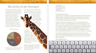 Updates für iWork-Apps fürs iPad