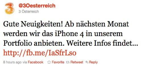 Twitter _ @3 Österreich_ Gute Neuigkeiten! Ab nächs ...