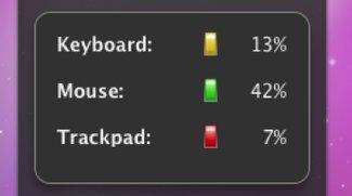 Widget BatteryLevel: Ladezustand von Magic Mouse und Co. im Blick