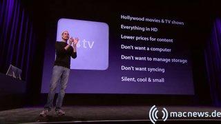 Apple Keynote: Apple TV Fakten