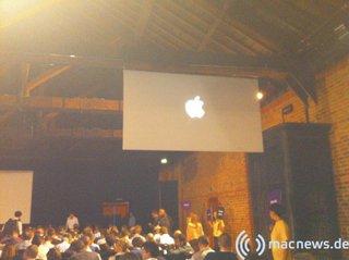 Apple Keynote: Erstes Bild aus The Brewery