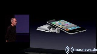 Apple Keynote: iPod touch mit Kopfhörern