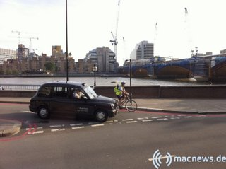 Apple-Keynote 09.2010 Taxi in London