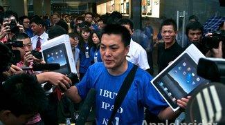 iPhone 4 ab Samstag in China - Warteschlangen beim iPad-Start
