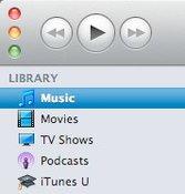 iTunes 10 mit farbigen Icons