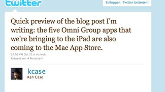 Ja zum Mac App Store: OmniGroup liefert Software