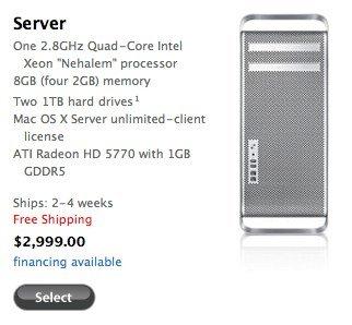 Umstrukturierung: Apple nimmt Xserve aus Produktportofolio, Mac Pro Server als Ersatz