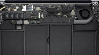 Zerbrechlicher MacBook Air-Akku: Vorsicht beim Speichertausch