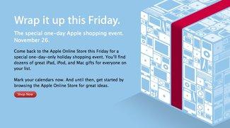 Diese Woche: Apple kündigt Black Friday Angebote an