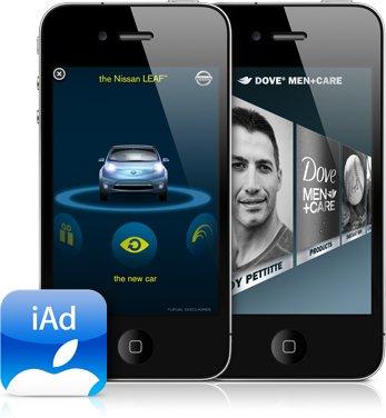 Apples Werbenetzwerk iAd startet ab Dezember in Europa