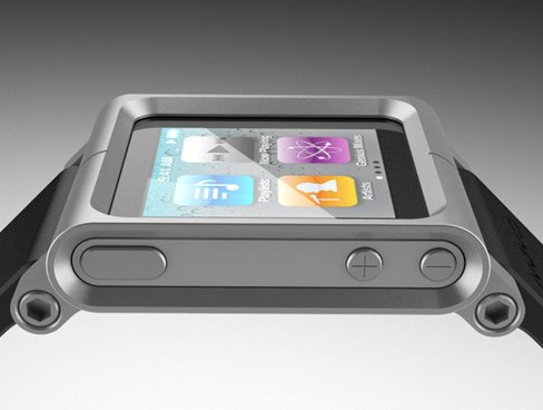 """Armbänder für den iPod nano – die """"iWatch"""""""