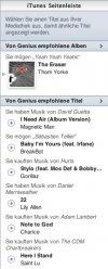 Die neue iTunes Seitenleiste