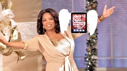Video: Talk-Lady Oprah Winfrey schenkt Publikum 275 iPads