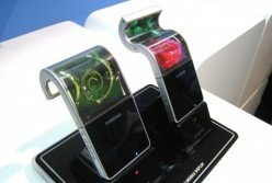 Samsungs biegsames AMOLED Display