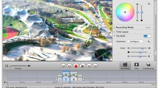 iStopMotion 2.5 mit Tilt Shift-Filter und Zeitraffer