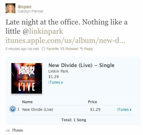 Twitter integriert Apples Ping