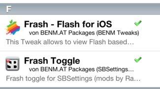 Cydia: Frash Toggle v0.2 jetzt iOS 4.1 kompatibel