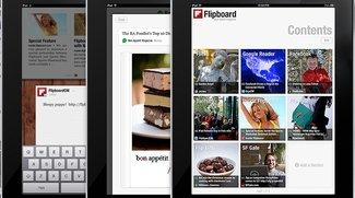 Flipboard 1.1 bringt Google-Reader- und Flickr-Integration