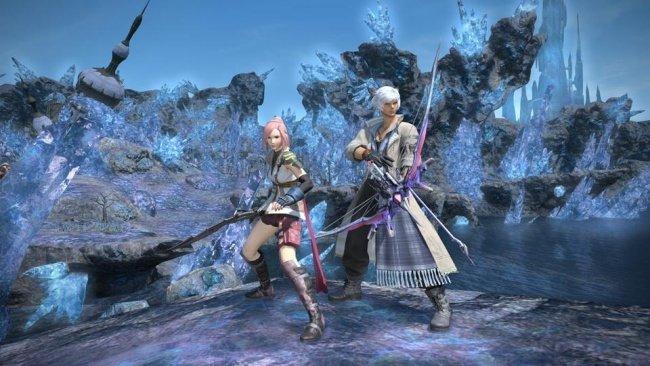 Final Fantasy 14: Spielgrafik und Render-Trailer weichen in Punkto Grafik gar nicht mal allzu weit voneinander ab