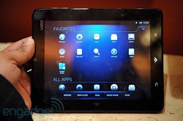 Vizio Tablet im Preview [CES 2011]