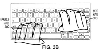 Apple-Patentantrag beschreibt Tastatur mit Kameras für Maus-Befehle