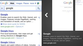 Google Instant Preview kommt zu iOS