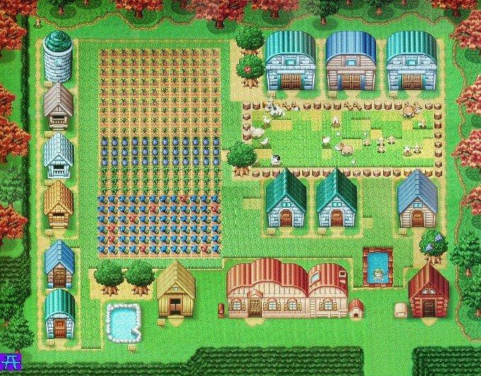 Harvest Moon DS: So könnte euer Bauernhof irgendwann auch einmal aussehen