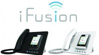 iFusion erweitert das iPhone um einen Telefonhörer