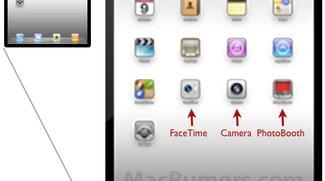 Facetime und PhotoBooth Icons: Eindeutige Hinweise für iPad 2 mit Kamera