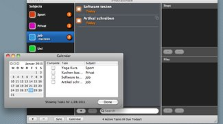 Kostenlose Aufgabenverwaltungs-Tools im Mac App Store