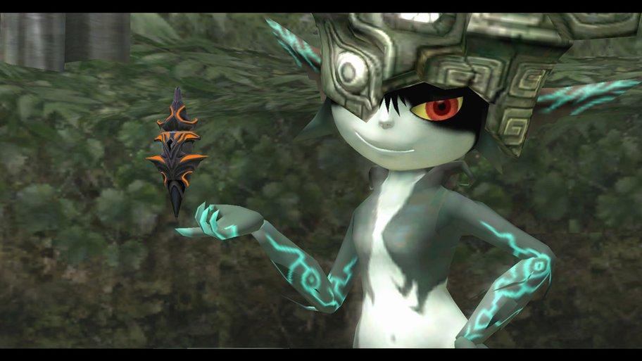 Twilight Princess: Die Fee Midna entpuppt sich als kesses Früchtchen