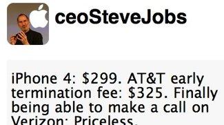 Steve-Jobs-Fake im Netz: Twitter schließt Account