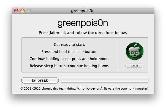 greenpois0n: Untethered Jailbreak für iOS 4.2.1 verfügbar [Update]
