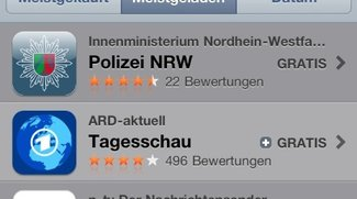 Polizei-App überholt Tagesschau und Stern