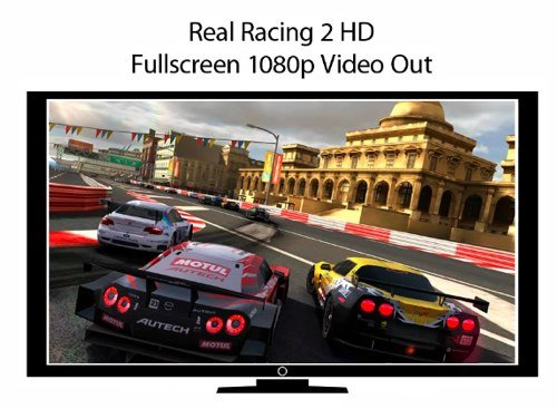 Real Racing 2 HD: Mit iPad 2 in Full-HD auf dem Fernseher