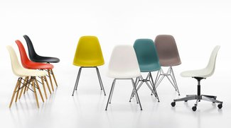 Vitra Eames Plastic Side Chair: Ein Stuhl wie ein Turm