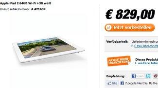 iPad 2 vorbestellen: Erste Shops preschen vor