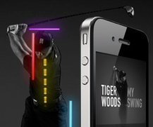 Tiger Woods Golf-App mit Video-Analyse