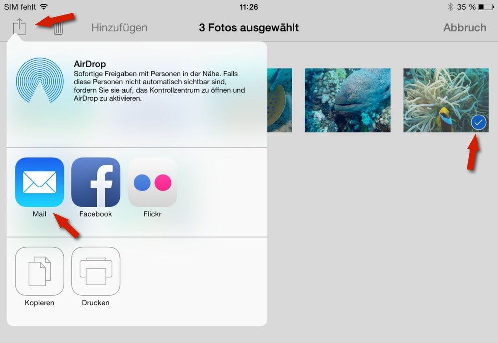 iPad-Fotos-verschicken-Tutorial