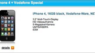 iPhone 4 für 35 Euro pro Monat – Angebotsupdate: Simlockfrei!