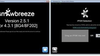 sn0wbreeze 2.5.1: PwnageTool für Windows auch in neuer Version für iOS 4.3.1
