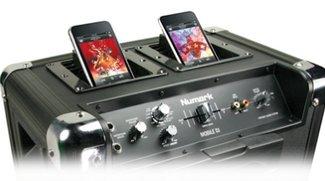 Numark MOBILE DJ: iPod/iPhone-Soundsystem mit Doppeldock