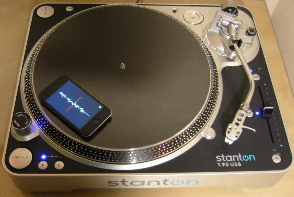 Mopho DJ: iPhone als Schallplatte