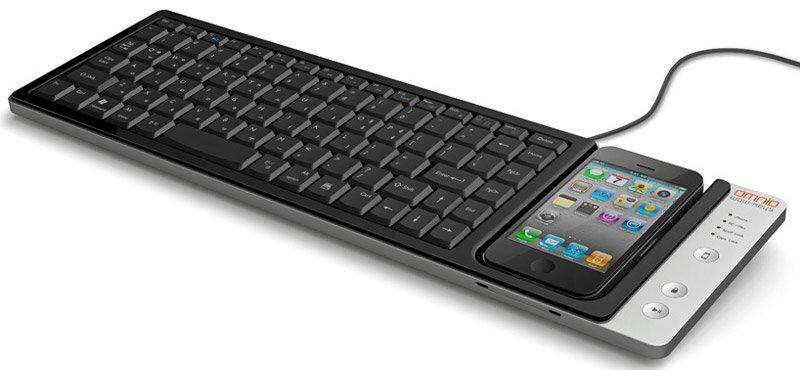 WOW-Keys: Multifunktions-Tastatur mit iPhone-Dock