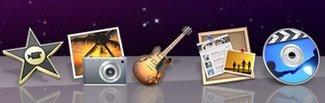 iLife-Update: iPhoto, iMovie, iWeb, GarageBand, iWeb, iDVD